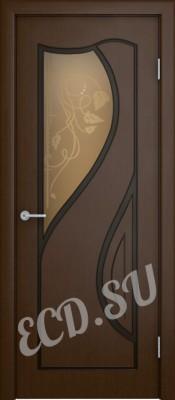 Шпонированная дверь Анабелла