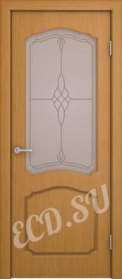 Шпонированная дверь Каталина