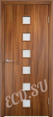Ламинированная дверь Пунктир