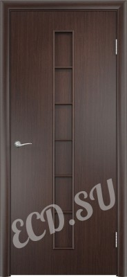 Ламинированная дверь Секстет