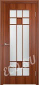 Ламинированная дверь Бургундия