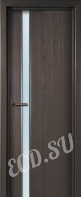 Шпонированная дверь Лайн