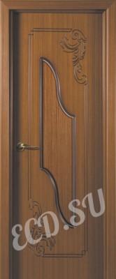 Шпонированная дверь Лувр