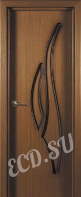Шпонированная дверь Парус