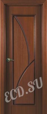 Шпонированная дверь Перо