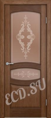 Шпонированная дверь Стефания