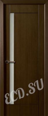 Шпонированная дверь Вектор