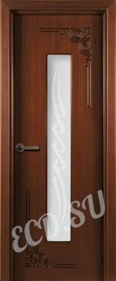 Шпонированная дверь Византия